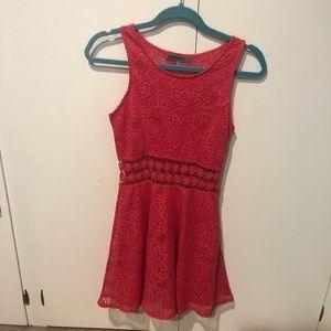 Bailey Blue • Pink Lace Dress
